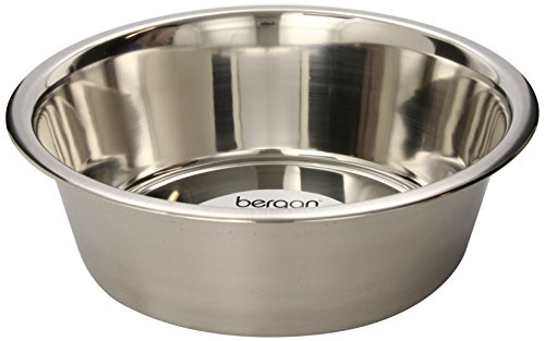 bergan stainless steel dog bowl 17cup - Dog Bowls