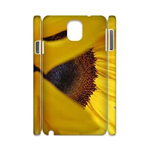 3D Samsung Galaxy Note 3 Cases, Men Sunflower 2 Cases for Samsung Galaxy Note 3 {White}