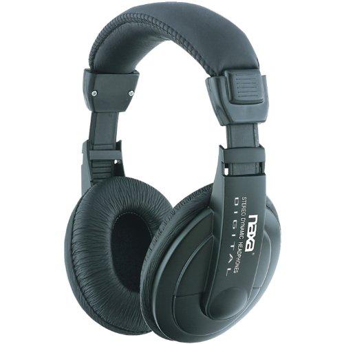 Naxa NE-916 Super Bass Professional Digital Stereo Headphones with Volume Control