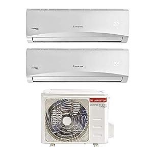 Ariston Prios 9+12 Climatizzatore Fisso Dual Split WI-FI Ready[Classe di efficienza energetica A++] 1 spesavip