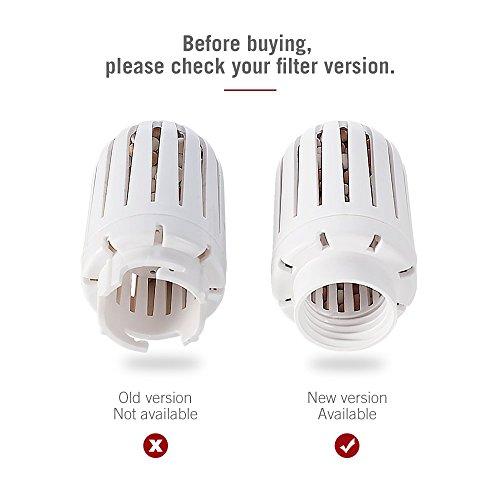 Ceramic Cartridges for Humidifier TaoTronics TT-AH001 TT-AH002 TT-AH019 Replacement Filters Pack of 2 White