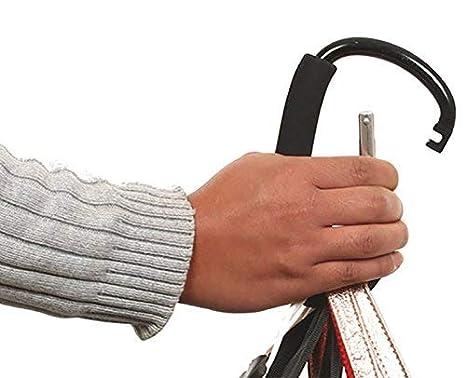 liltourist extra grande cochecito mosquetón gancho, bebé, Cochecito Clip, aluminio con protección para bolso acolchado, Stroller Hook, Buggy Ganchos
