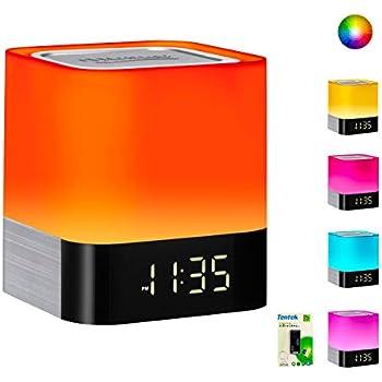 Amazon Com Night Light Bluetooth Speakers Wamgra All In 1