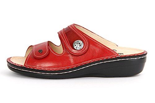 Finn rosso fiamma Comfort rosso infradito per donna FqFRZ