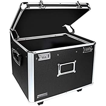 Tactical Black Vaultz Locking Personal File Tote for Letter Sized Documents VZ00310