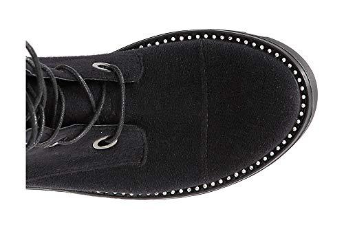 010 Jfd931 Low Black Boots Lace Nero Café up qST4Uw