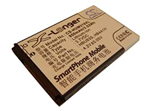 Batería vhbw 950mAh para móviles Huawei HWM636, HWM636-R, M318, M635, M636, Vodafone 715, 716, 736. VF815, VF716, VF736 sustituye HB4A1H, HBU83S.