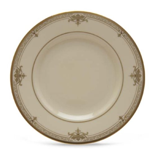 Lenox Republic Gold-Banded Ivory China Butter Plate