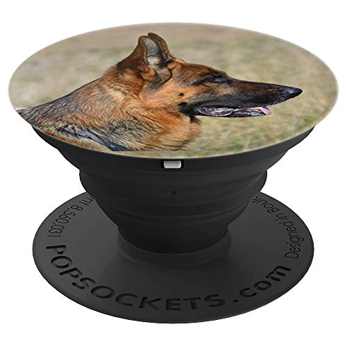 Cute Shepherds German (German Shepherd Pop Socket Cute Gift for Dog Lovers - PopSockets Grip and Stand for Phones and Tablets)