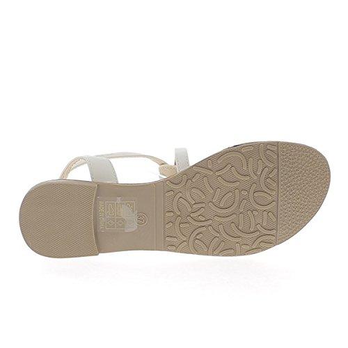 A piedi nudi suolo nero frangia aspetto opaco pelle tacco 0,5 cm