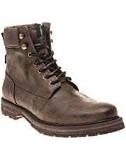 V.GAN Vegan Mace Mens Boots Brown