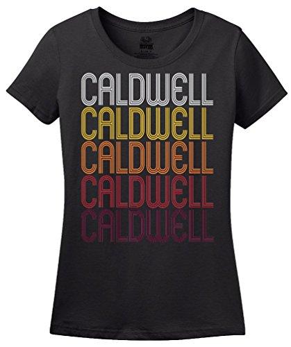 Caldwell, ID | Retro, Vintage Style Idaho Pride T-shirt