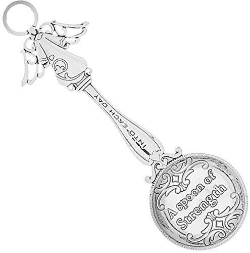 Measure of Happiness Angel Keepsake Teaspoon - A Spoon of ()