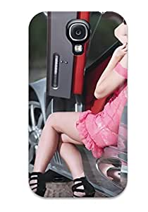 Special Design Back Misschica In Red Dress Women People Women Phone Case Cover For Galaxy S4