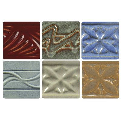 Amaco Potter's Choice Glazes, Set of 6 Pints, Classroom Pack 4