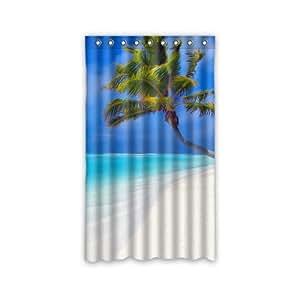 Amazon Com 50 Quot W X 84 Quot H Tropical Paradise Ocean Beach