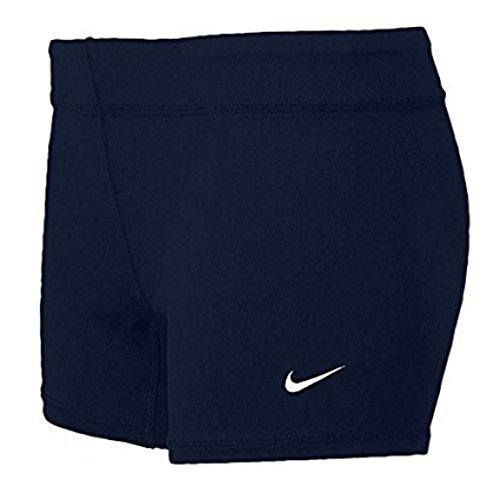 Nike Performance Women's Volleyball Game Shorts (Small, Navy) ()
