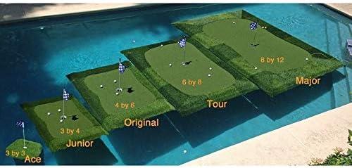 小売Turfソリューションフローティングゴルフグリーン8 x 12 ft「Major」フローティングゴルフグリーン