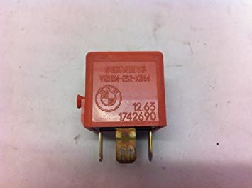 Amazoncom BMW E46 325i 330i M3 Relay For Secondary Air Injection