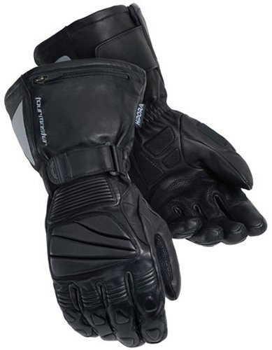 Tourmaster Elite II MT Mens Black Leather Winter Gloves - 2X-Large