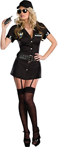 [Dreamgirl Womens Bodyguard Eva Destruction Police Women Dress Sexy Costume, S (2-6)] (Bodyguard Eva Destruction Costumes)