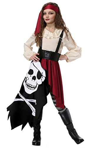 Kids Gypsy Costumes (Girl's Pirate Flag Gypsy X-Large)