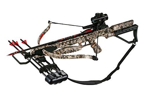 Velocity Archery Warhawk Crossbow Premium Package, Camo