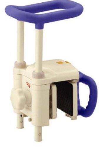 アロン化成 安寿 高さ調節付浴槽手すりUST-130N ブルー B00BVK3EQK  ブルー