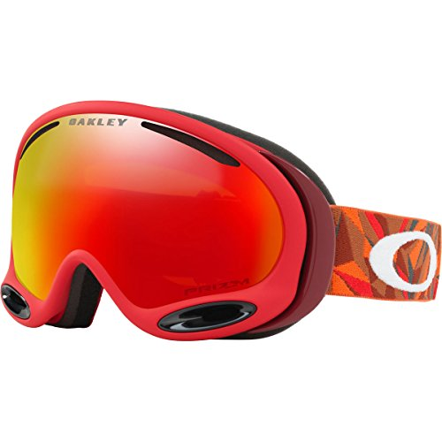 Oakley A-Frame 2.0 Snow Goggles, Facet Red Brick, - Oakley Goggles Ski Red