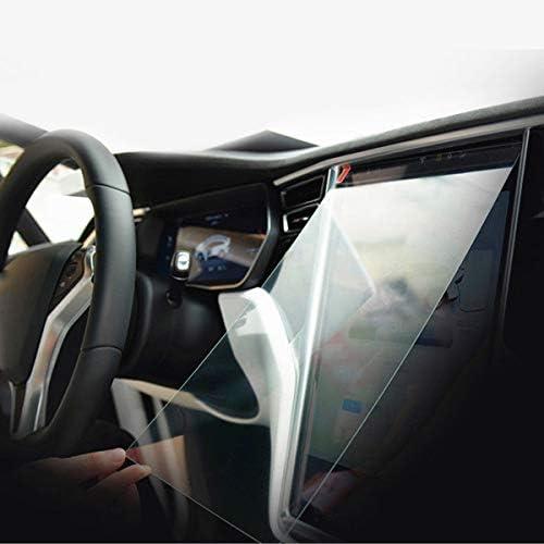 Forspero 17 Pulgadas HD Transparente Vidrio Templado Protector De Pantalla para Tesla Modelo S Tesla Modelo X: Amazon.es: Coche y moto