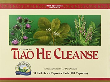 Nature's Sunshine Tiao He Herbal Cleanse | Cleanse and Detox The Colon and Liver with Traditional Chinese Herbs