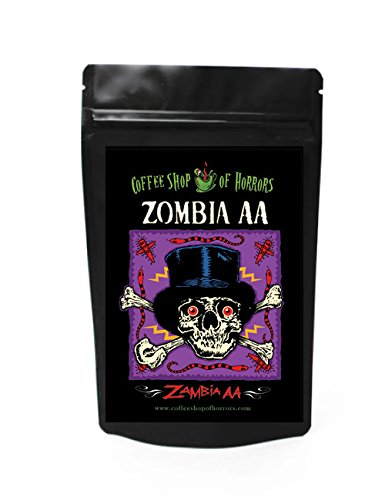 Coffee Shop of Horrors Zimbabwe AA - Zombia AA (8oz bag)