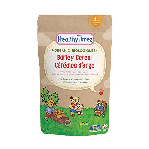 Healthy Times Organic Whole Grain Cereal, Barley, 142g