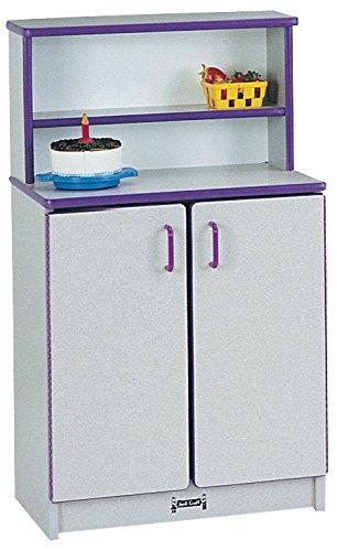 Rainbow Accents 0207JCWW003 Play Kitchen Cupboard, (Jonti Craft Blue Kitchen)