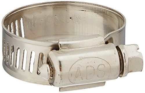 Uxcell ajustable gusano de acero inoxidable Drive abrazadera de manguera (5piezas), de 18mm a 32mm