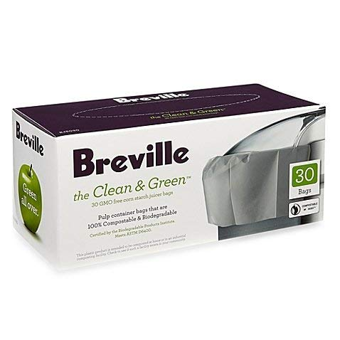 Breville the Clean & Green 30-Count Juicer Bags