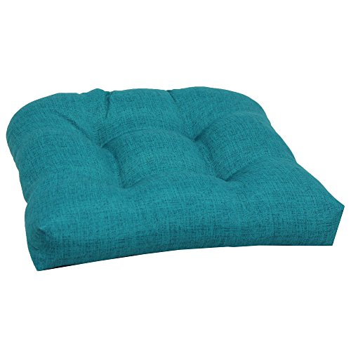 Brentwood Originals 35406 Indoor/Outdoor Chair Cushion, Turquoise (Outdoor Lifestyle Furniture Manufacturers)