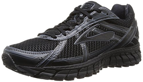 Brooks Men's Adrenaline Gts 15 Running Shoe (7.5 D(M) US, Black/Anthracite)