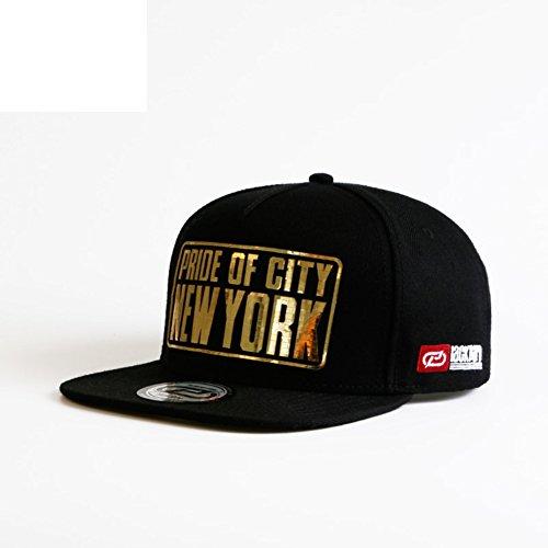 Spring and summer men and women hip-hop hat/Outdoor sports hip-hop hat/Sunshade baseball hat-D Adjustable by Baseball Caps