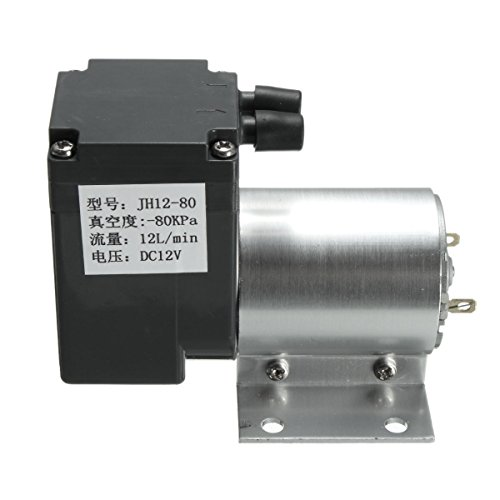 DC 12V Mini Vacuum Pump Negative Pressure Suction Pump 12L/min 120kpa With Holder by INNI (Image #5)
