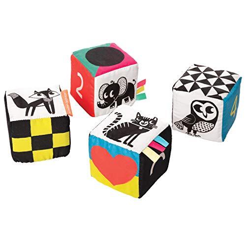 Manhattan Toy Wimmer-Ferguson Mind Cubes Soft Baby Activity Toy