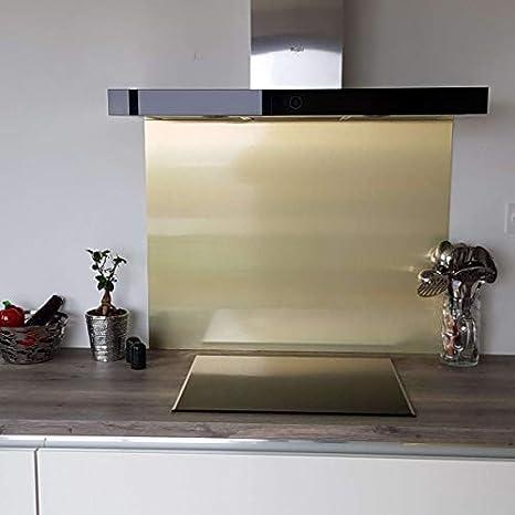 Credence Composite Oro cepillado - Altura 45 cm x Ancho 80 cm ...