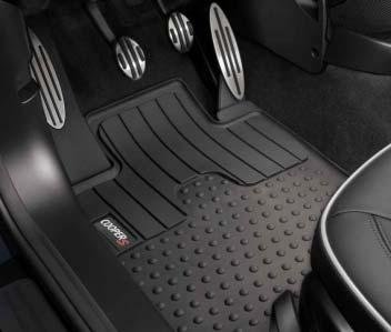 "MINI Cooper Countryman S Genuine Factory OEM 51472181811 ""S"" Logo Front All Season Floor Mats"
