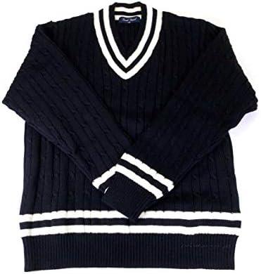 [ブラッド・フォード] Brad Fourd 6108 クリケット Vセーター 7G