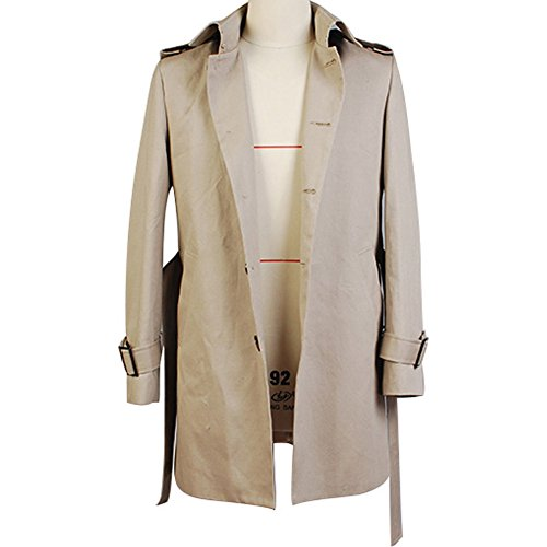 CosplaySky Constantine John Constantine Cotton Twill Trench Coat Costume by Cosplaysky