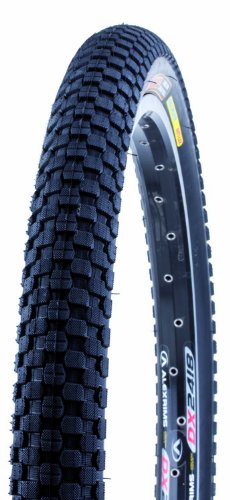 Kenda K-905 K-Rad BMX Wire Bead SRC Bike Tire, Black, 20-Inch x 1.95-Inch