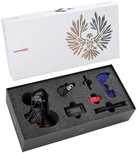 SRAM XX1 Eagle AXS Upgrade Kit – Rear Derailleur, Battery, Eagle AXS Controller w/Clamp, Charger/Cord