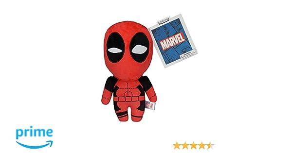 Amazon.com: Kidrobot Plush Toy Marvel Phunny Plush - Deadpool - 8