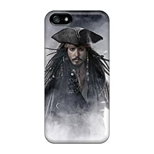 AlexandraWiebe For Iphone 5/5S Phone Case Cover Well-designed Hard Pirates Of The Caribbean Movie Protector
