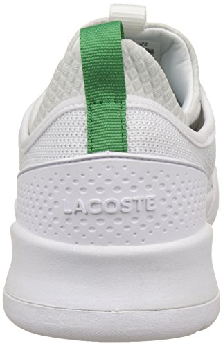 Lacoste Men's Lt Spirit 2.0 317 1 Bass Trainers White (Wht/Grn) quality free shipping outlet discount with paypal sale largest supplier nv8AYNj